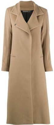 Sprung Frères Oversized Collar Cashmere Coat