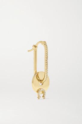 Foundrae 18-karat Gold Diamond Earring