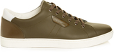 Dolce & Gabbana London low-top leather trainers