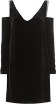McQ Embellished Cold Shoulder Dress