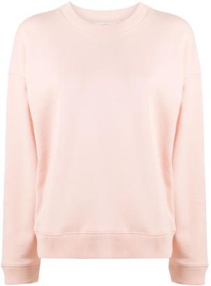 Vince Rib-Trimmed Cotton Sweatshirt