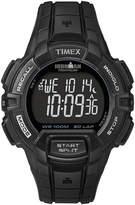 Timex Ironman Rugged Mens 30-Lap Black Dial Watch