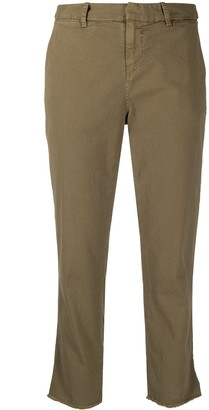 Nili Lotan Cropped Slim-Cut Trousers