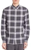 Vince Plaid Melrose Shirt