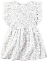 Carter's Toddler Girl Geo Lace Dress