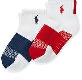Ralph Lauren Color-Block Sport Sock 2-Pack