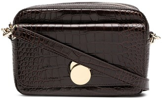 Tila March Karlie faux croc camera bag
