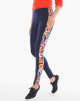 Chico's Pieced Print Leggings