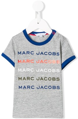Little Marc Jacobs logo-print T-shirt