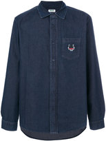 Kenzo Mini Tiger denim shirt - men - Cotton - 38
