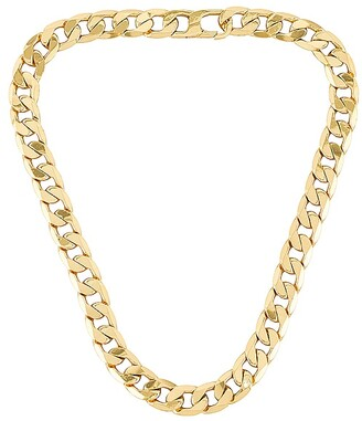 BaubleBar Large Michel Curb Chain Necklace