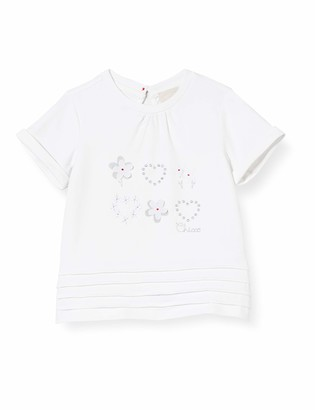 Chicco Baby Girls' T-Shirt Bimba Manica Corta Kniited Tank Top