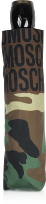 Moschino Camouflage Open-Close Umbrella