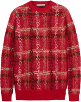 Carven Checked knitted sweater