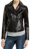 MICHAEL Michael Kors Michael Kors Motorcycle Leather Jacket-L