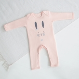 My 1st Years Pink Bunny Romper