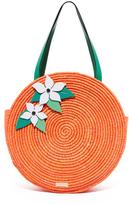 Kate Spade Straw Orange Tote