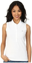 Lacoste Sleeveless Slim Fit Stretch Pique Polo Shirt