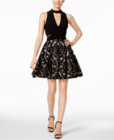 Xscape Evenings Print Fit and Flare Dress