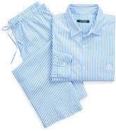 Ralph Lauren Striped Lawn Capri Pajama Set