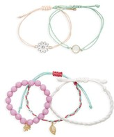 Capelli of New York Girl's Daisy 5-Pack Bracelets
