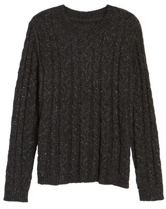 Women's Press Trapeze Fit Cable Knit Sweater