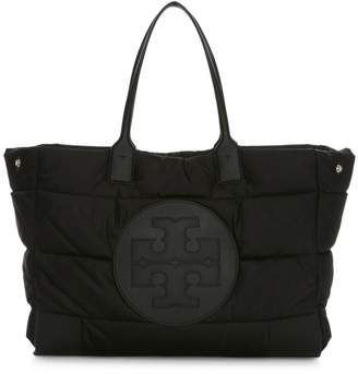 Tory Burch Ella Quilted Satin Tote