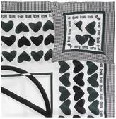 McQ by Alexander McQueen heart print scarf