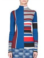 Kenzo Wool Colorblock Top