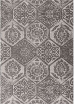 Asstd National Brand Mosaic Rectangular Rug