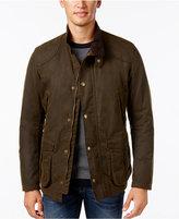 Barbour Men's Leeward Wax Jacket
