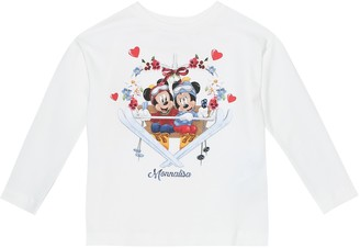 MonnaLisa x Disney stretch-cotton top