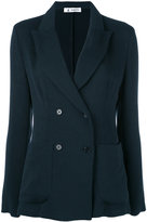 Barena blazer jacket - women - Cotton/Polyamide/Viscose - 44