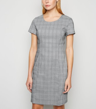 New Look Dogtooth Check Mini Dress