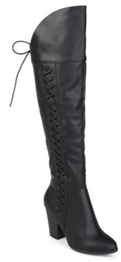 Journee Collection Spritz Wide Calf Over The Knee Boot