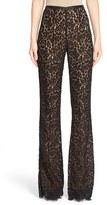 Michael Kors Women's Floral Lace Flare Pants