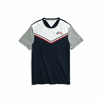 Tommy Hilfiger Men's Adaptive T Shirt with Velcro Brand at Shoulders