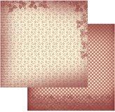 "Artdeco Creations Vintage Rose Garden Double-Sided Paper 12""X12""-Petite Flowers"