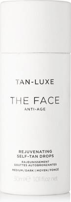Tan-Luxe The Face Anti-age Rejuvenating Self-tan Drops - Medium/dark, 30ml