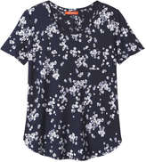 Joe Fresh Women's Print Tee, JF Midnight Blue (Size S)