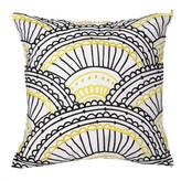 Trina Turk Decorative Pillow - Yellow/Black