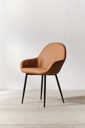 Urban Outfitters Remy Faux Leather Arm Chair