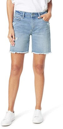 Joe's Jeans 7 Bermuda Shorts Fray Hem in Shasta (Shasta) Women's Shorts