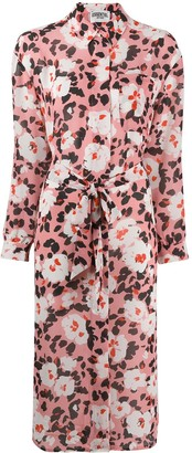 Essentiel Antwerp Floral Shirt Dress