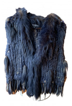 Oakwood Blue Fur Jackets