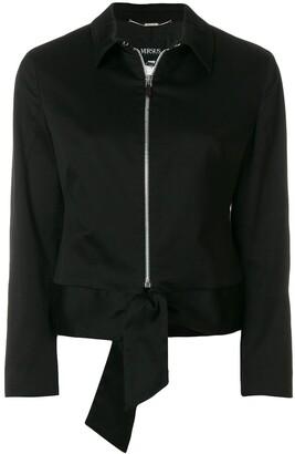 Versace Pre-Owned Zipped Slim Jacket