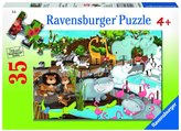 Ravensburger Day at the Zoo (35 pc) Puzzle