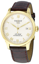 Tissot Le Locle Powermatic 80 Automatic Champagne Dial Men's Watch, 39mm