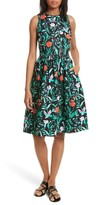 Kate Spade Women's Jardin Cotton Poplin Dress