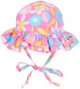 Flap Happy Upf 50 Double Ruffle Hat (Baby) - Petal Pops - Extra Large